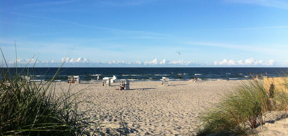 Strandperle Prerow Fischland Darß Zingst